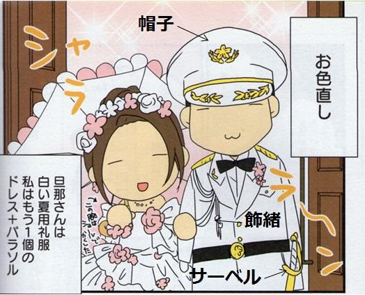 画像は\u201dヨメさんは萌え漫画家\u201dより。結婚式のシーンです。
